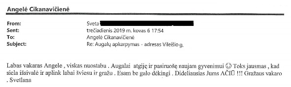PD-03 Vileišio g. Angelei Cikanavičienei