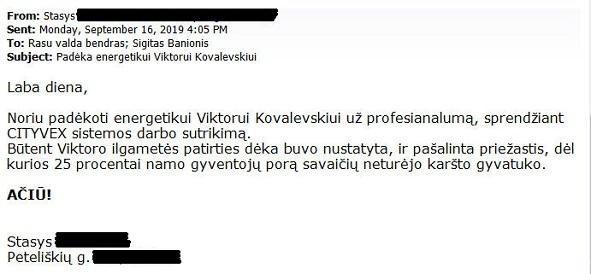 Padeka Viktorui